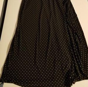 Merona Dresses - Small Black Polkadot dress